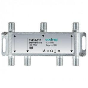 Axing  BVE 6-01P BK-6fach Verteiler, 5-1218 MHz