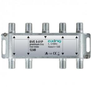 Axing BVE 8-01P BK-8fach Verteiler,5-1218 MHz