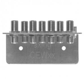 Axing QEW 7-50 Erdungswinkel 7-fach | zweireihig, Vodafone Kabel Deutschland zugelassen