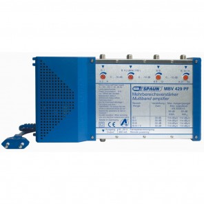 Spaun MBV 429 PF Mehrbereichsverstärker, 30 dB