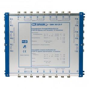 SPAUN SMK 99129 F Multischalter für 2 Satelliten kaskadierbar