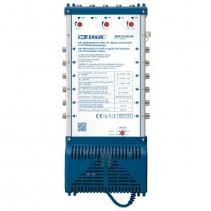 Spaun SMS 51206 NF Kompakt-Multischalter Premium Klasse 12 Teilnehmer | 5 in 12, 1 Satellit, HDTV-, 4K-, 3D-tauglich, rückkanaltauglich (Triple Play)