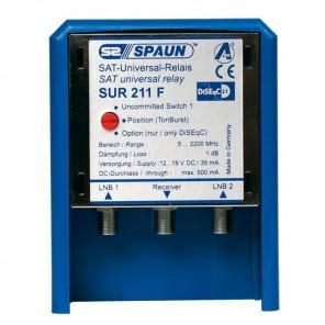 SPAUN SUR 211 WSG Sat-Antennen-Relais