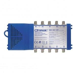 Spaun SBK 5501 NFI kaskadierbarer Basisverstärker mit 21-25 dB Verstärkung für große Sat-Anlagen