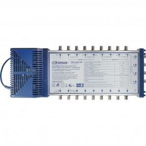 Spaun SMS 9949 NFI Sat-Multischalter 9/4 kaskadiebar | 4 Teilnehmer, 2 Satelliten, rückkanaltauglich