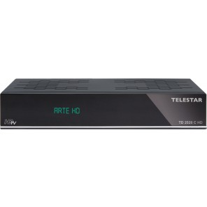 Telestar TD 2520 C HD HDTV-Kabelreceiver | PVR ,alphanum. Display
