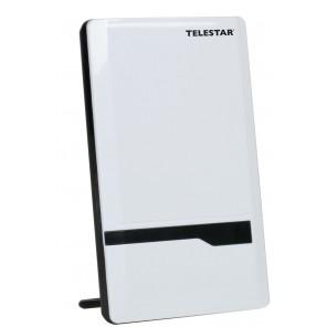 Telestar Antenna 7 LTE weiß aktive DVB-T Flachantenne mit 35dB Verstärkung