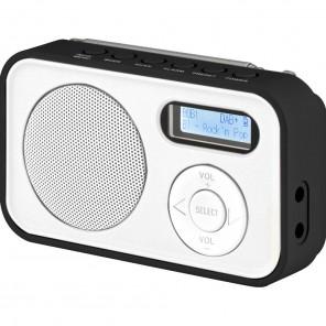 Imperial Dabman 12 | DAB+/UKW-Radio, portable, weiß