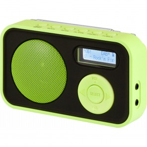 Imperial Dabman 12 | DAB+/UKW-Radio, portable, grün
