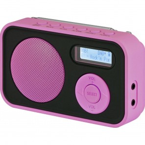 Imperial Dabman 12 | DAB+/UKW-Radio, portable, pink