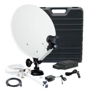 Telestar Camping-Anlage 35cm Hartschalenkoffer incl. TeleMini HD Receiver