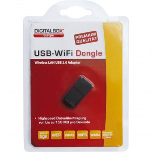 Digitalbox USB W-LAN Dongle für Digitalbox Imperial HD 5/HD 6 Serie schwarz
