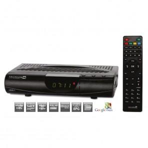 Techion HDS 1 DVB-S2 HD Receiver | Full HD | SCR Unicable | Internetfunktion