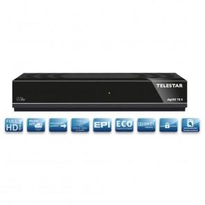 Telestar DigiHD TS6 DVB-S2 Receiver   HDMI, Scart