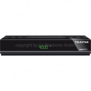 Telestar DigiHD TC7 DVB-C2 Receiver | HDMI, Scart, Ethernet, PVR, schwarz