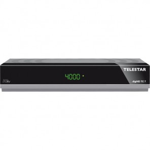 Telestar DigiHD TC7 DVB-C2 Receiver | HDMI, Scart, Ethernet, PVR, grau