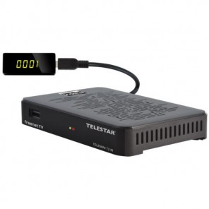 Telestar Telemini T2 IR DVB-T2 HD Receiver | freenetTV, Irdeto integriert