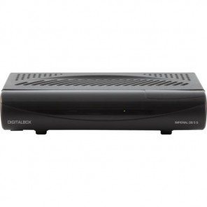 Digitalbox Imperial DB 5S Sat-Receiver schwarz | 77-556-00, DVB-S, Free-to-air