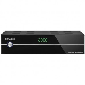 Imperial HD5 kompakt DVB-S2 Receiver | schwarz, HDMI
