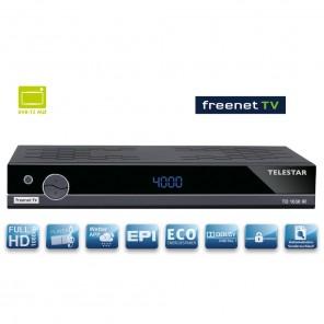 Telestar TD 1030 IR DVB-T2 Receiver mit Irdeto-Entschlüsselung für Freenet TV