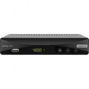 Imperial T2 IR DVB-T2 Receiver | Irdeto, Display, Mediaplayer