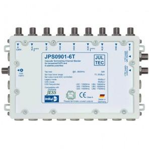 Jultec  JPS0901-6T MS/Einkabelumsetzer | 9/1x6 CSS, terminiert