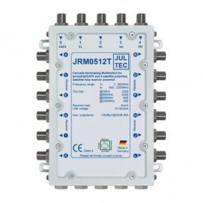 Jultec JRM 0512T Multischalter stromsparend | 1 Satellit | 12 Teilnehmer | Endkaskade