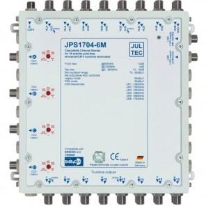 Jultec  JPS1704-6M Einkabelumsetzer | 17/4x6, kaskadierbar
