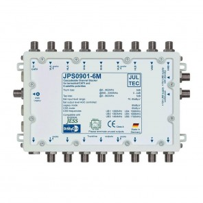 Jultec  JPS0901-6M Einkabelumsetzer | 9/1x6 CSS, passiv