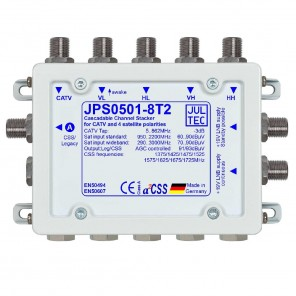 Jultec  JPS0501-8T2 Einkabelumsetzer | 5/1x8, terminiert
