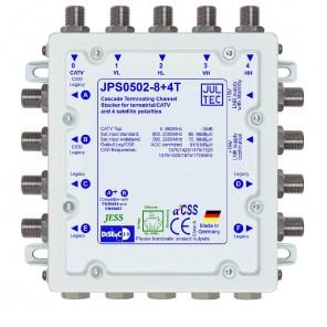 Jultec JPS0502-8+4T Einkabelumsetzer | 1 Satellit | 16 + 4 Teilnehmer