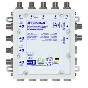 Jultec  JPS0504-8T Einkabelumsetzer | 5/4x8, terminiert