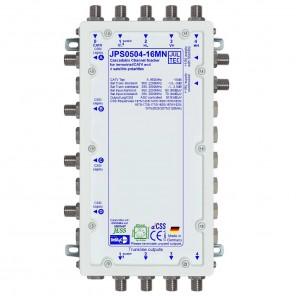 Jultec JPS0504-16MN Einkabelumsetzer a²CSS konfigurierbar   1 Satellit   bis zu 64 Teilnehmer   kaskadierbar   Netzteil inklusive