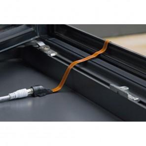 KFD 200 Fensterdurchführung hochflexibel extrem flach 0,2 m Kupfer-Flachkabel