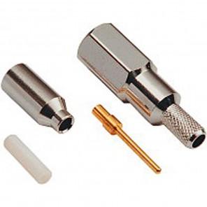 Fuba FMS 100 FME-Crimpstecker (Nippel) für RG 58 Kabel
