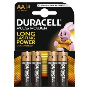 Duracell MN1500 PlusPower 1,5 Volt Mignon Batterie | AA Alkaline-Batterie 4er-Blister