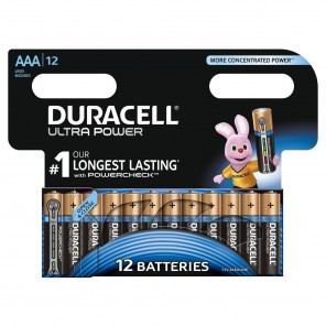 Duracell MN 2400 UltraPower Micro,AAA,Alkaline,Blister 12,Powercheck