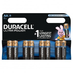 Duracell MX1500 UltraPower Mignon Batterie | AA Alkaline,Powercheck,8er-Blister