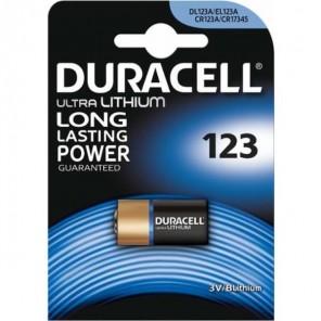 Duracell Ultra Lithium 123 Fotobatterie | 3 Volt, CR123A, 1er-Blister
