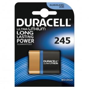 Duracell Ultra Lithium 245 Fotobatterie | 6 Volt, 2CR5, 1er-Blister
