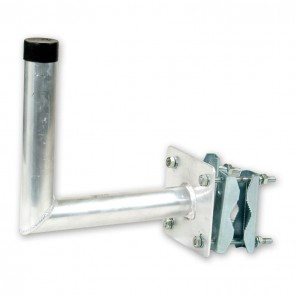 ASCI WMA 300 Winkelwandhalter aus Aluminium mit einem Wandabstand von 300 mm
