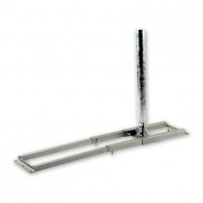 SPM 150 Dachsparrenhalter Sparrenabstände bis 1000mm mit stufenlos einstellbaren Teleskop-Vierkantrohren und 150 cm Rohrlänge