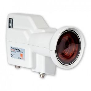 Fuba OLB 900 LNB mit optischem FC/PC Ausgang | vier Sat-Ebenen über ein Fiberglaskabel
