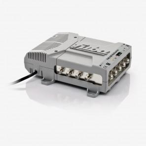 Fuba FMQ 508 Profi Sat-Multischalter 8 Teilnehmer | 5 in 8, HDTV-, UHD(4K)-,3D-tauglich, aktive Terrestrik
