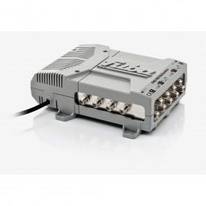 Fuba FMQ 908 Profi Sat-Multischalter 8 Teilnehmer | 9 in 8, 2 Satelliten, HDTV-, UHD(4K)-,3D-tauglich, aktive Terrestrik