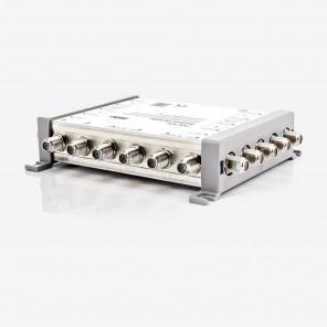 Fuba FVK 525 Zweifach-Verteiler passiv | Verteilung von 4x Sat-ZF und 1x Terrestrik, 4,5 dB