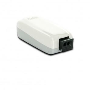 Fuba WebFiber 1110 Lichtleiter-Adapter | 1x POF, 1x RJ45, Netzwerk-Adapter, 1GBit/s Übertragungsrate