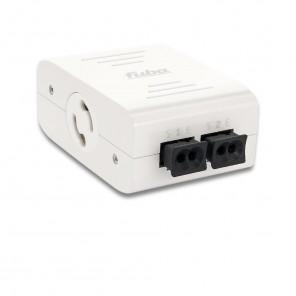 Fuba WebFiber 4210 Lichtleiter-Switch | 1xRJ45, 2xPOF, Wandler LAN/optisch, GBit Netzwerk Switch