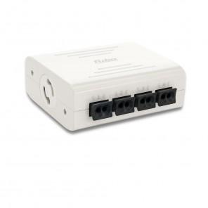Fuba WebFiber 4410 Lichtleiter-Switch 1xRJ45 4xPOF Wandler LAN/optisch