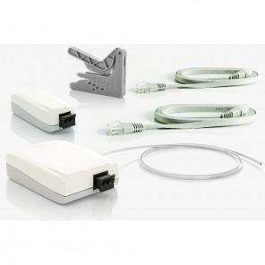 Fuba WebFiber Set 130 Lichtleiter-Adapter Set | 1x1110 + 1x1130 + 20m WFL200 + WFW100